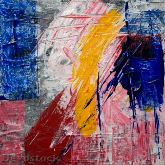 Devostock Art Painting Abstract 108586 4K