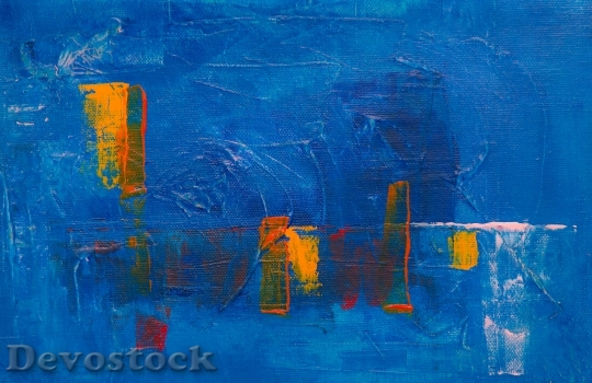 Devostock Art Painting Abstract 132886 4K