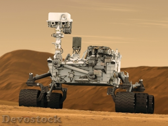 Devostock Mars Rover Curiosity Space HD