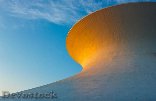 Devostock Sunset Planetarium Building Light HD