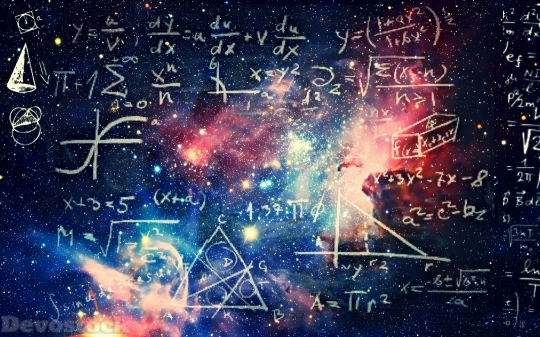 Devostock The Universe Mathematics Physic HD