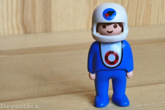 Devostock Toys Spaceman Character Fiction HD