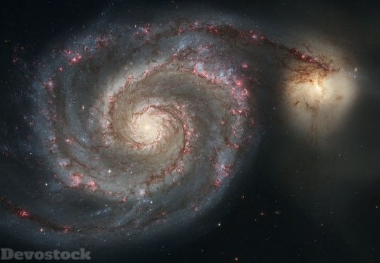 Devostock Whirlpool Galaxy Galaxy Messier HD