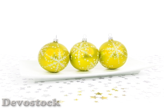 Devostock Ball Bauble Christmas Decoraton 1 4K