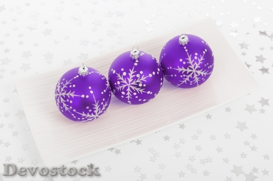 Devostock Ball Bauble Christmas Decoraton 5 4K