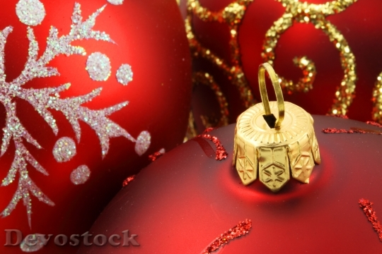 Devostock Balls Baubles Celebration Christas 5 4K