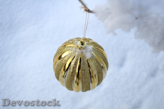 Devostock Balls New Year Hoiday 4K