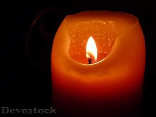 Devostock Candle Flame Wax Candle Event 65265 4K.jpeg
