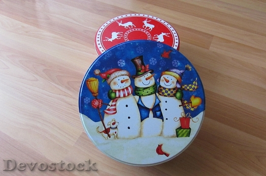 Devostock Candy Jars Christmas Temes 4K