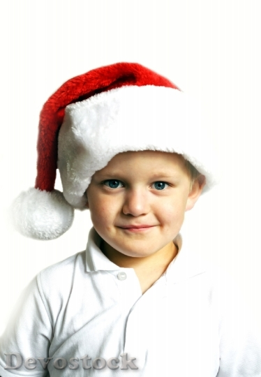 Devostock Christmas Boy Chil Kid 4K