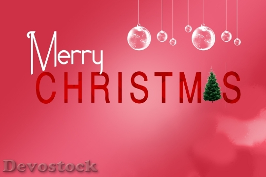 Devostock Christmas Greeting Crd 0 4K