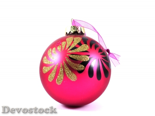 Devostock Christmas Ornament Merry Chritmas 4K