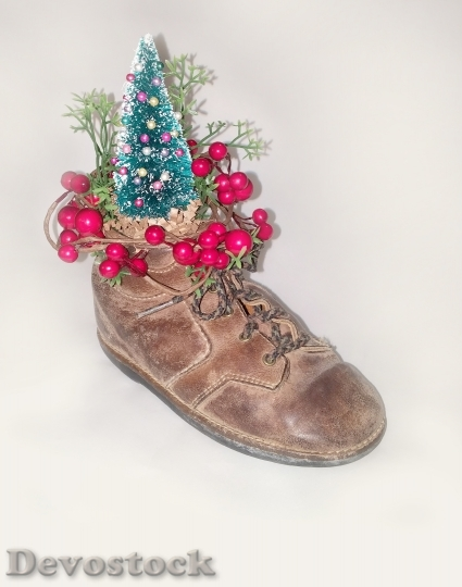 Devostock Christmas Shoe Decoration Hoiday 4K