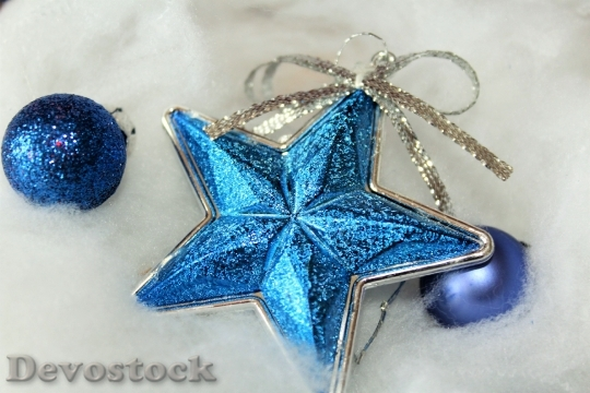 Devostock Christmas Star Decoration 108086 4K