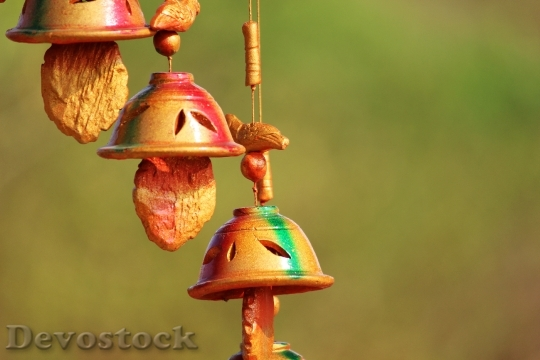 Devostock Decoration Decor HangingBell 4K