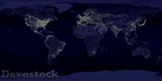 Devostock Earth Earth At Night Night Lights 41949 4K.jpeg