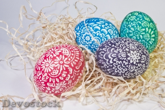Devostock Eggs Egg Easter Egs 2 4K