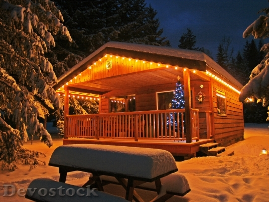 Devostock Enlighted Illuminated Cabin 5961 4K