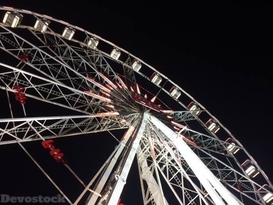Devostock Ferris Wheel Funfair Chritmas 4K