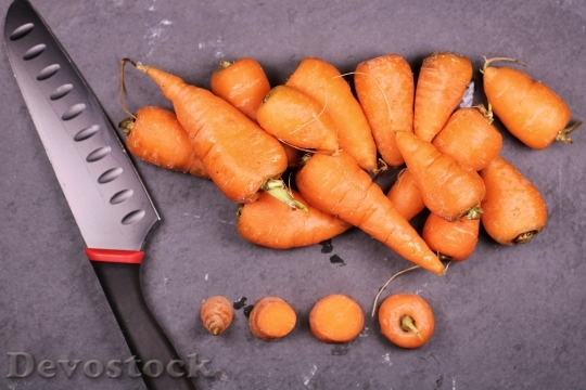 Devostock Food Carrot 4K