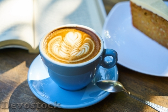 Devostock Food Coffee 4K