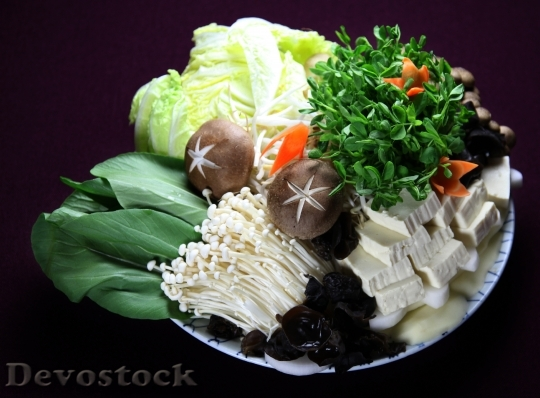 Devostock FOOD INGREDIENTS HOT-POT DISH