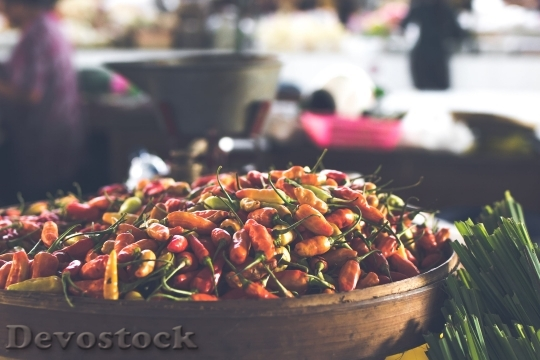 Devostock Food Tasty Colorful 4K