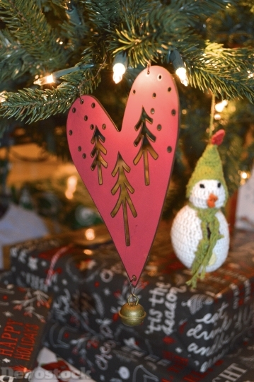 Devostock Heart Hanging Ornament 119487 4K