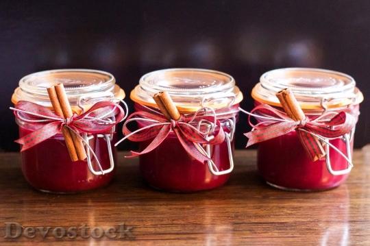 Devostock Jam Jar Christmas Hommade 4K - Devostock Download