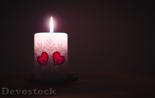 Devostock Light Dark Valentine S Day 15275 4K