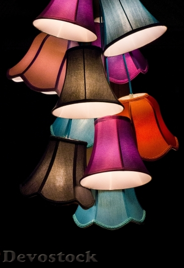 Devostock Lights Lamps Colorful37869 4K