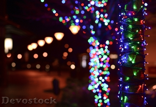 Devostock Lights Night Street 22680 4K