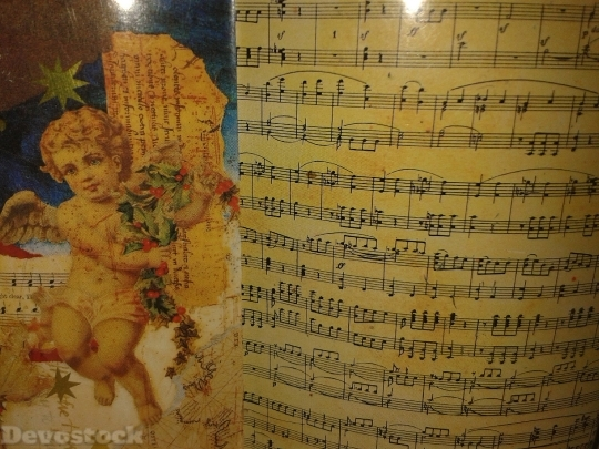 Devostock Notenblatt Sheet Music usic 4K