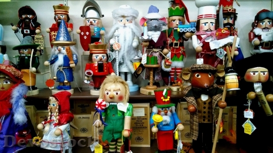 Devostock Nutcracker Christmas Collection 55425 4K