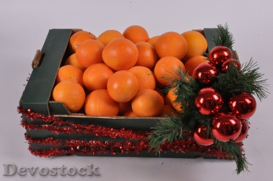 Devostock Oranges Christmas Fruit Chritmas 4K
