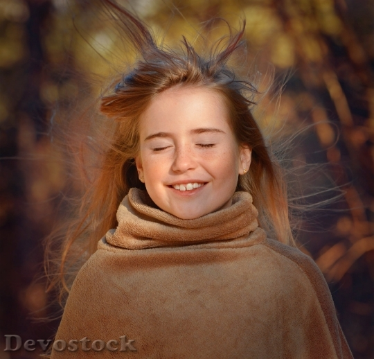 Devostock Person Human Female Girl 4K
