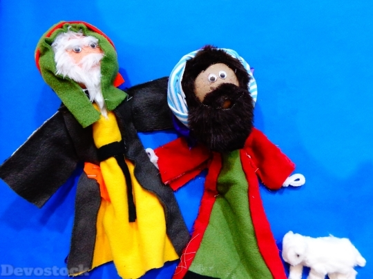 Devostock Puppets Sunday School Chritmas 4K