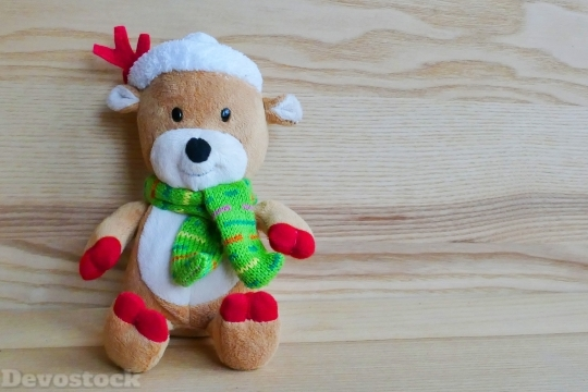 Devostock Reindeer Toy Stuffed Chritmas 4K