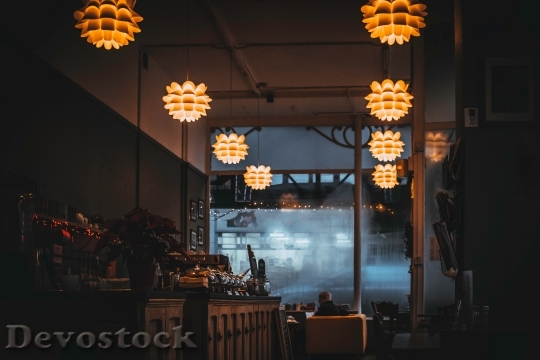 Devostock Restaurant Lights Lamps 76538 4K