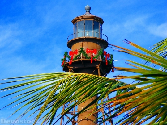 Devostock Sanibel Island Florida Lightouse 4K