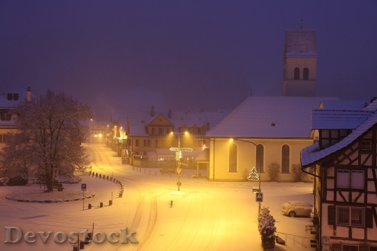 Devostock Snow Romantic Village Snowy 161254 4K.jpeg