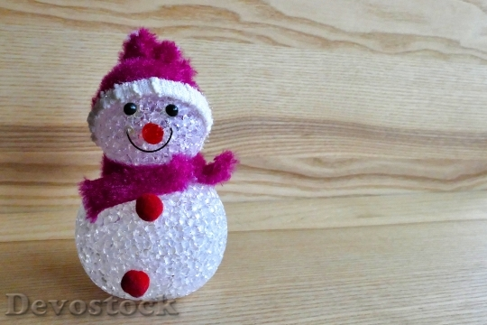 Devostock Snowman Decoration Christmas 100447 4K