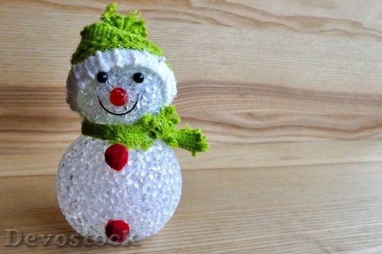 Devostock Snowman Decoration Christmas 100449 4K