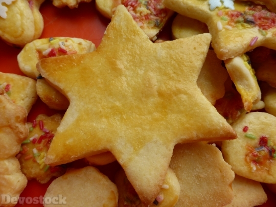 Devostock Star Cookie Pastries Ausstecerle 4K