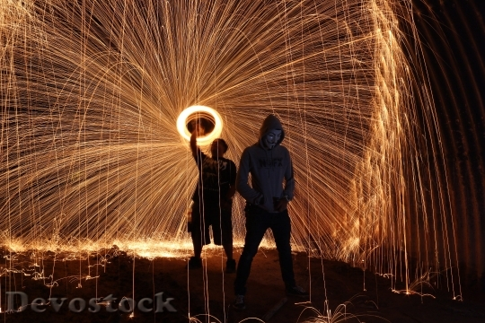 Devostock Steelwool Firespin Art People 48801 4K.jpeg