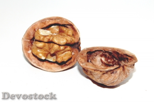 Devostock Walnut Nut ChristmasFood 4K