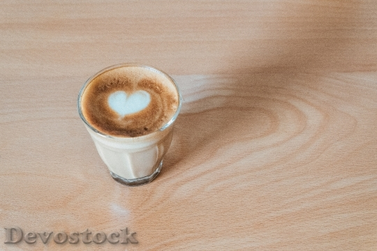 Devostock Wood Heart Caffeine 36000 4K