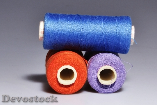 Devostock Yarn Thread Still Life Colors 4K
