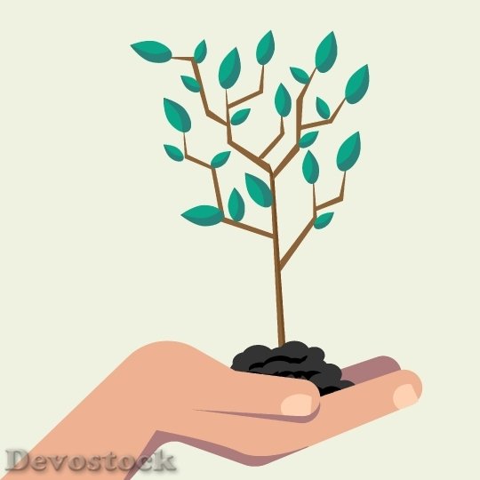 Devostock Hand Carrying Tree