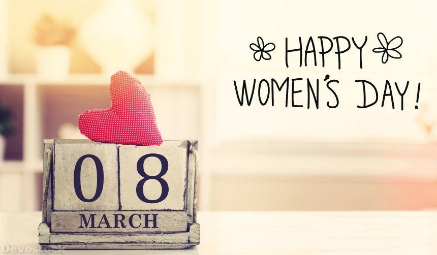 Devostock 8 March Happy Women 4k